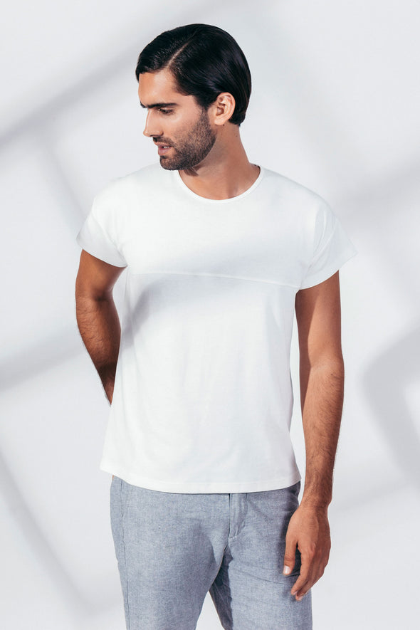 CACIANO CUT TANGÜIS ORGANIC COTTON Short Sleeve T-Shirt