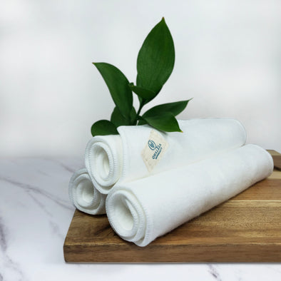 QHALEZA BAMBOO COTTON FACIAL Towel