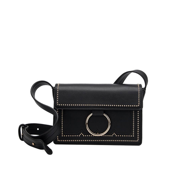 Melie Bianco CHERIE Mini Studded Crossbody
