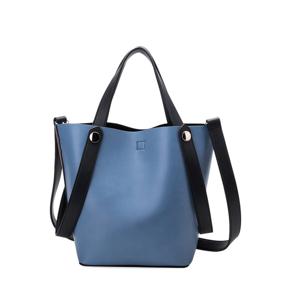 Melie Bianco BAILEY Two Tone Shoulder Bag