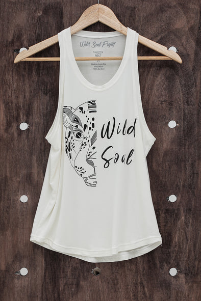 WILD SOUL PROJECT WILD SOUL Bambú Sleeve Less T Shirt