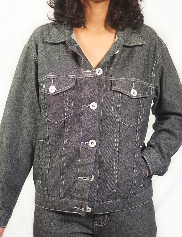 CIRCULAR EARTH UNISEX JEAN Jacket