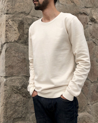 CACIANO NATURAL ORGANIC COTTON SWEATSHIRT
