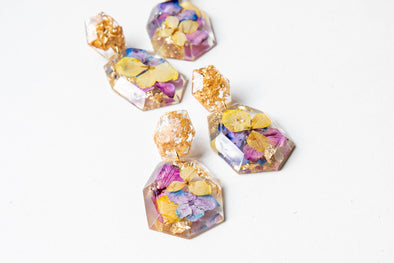 CROMATIC BETH ECO RESIN Earrings