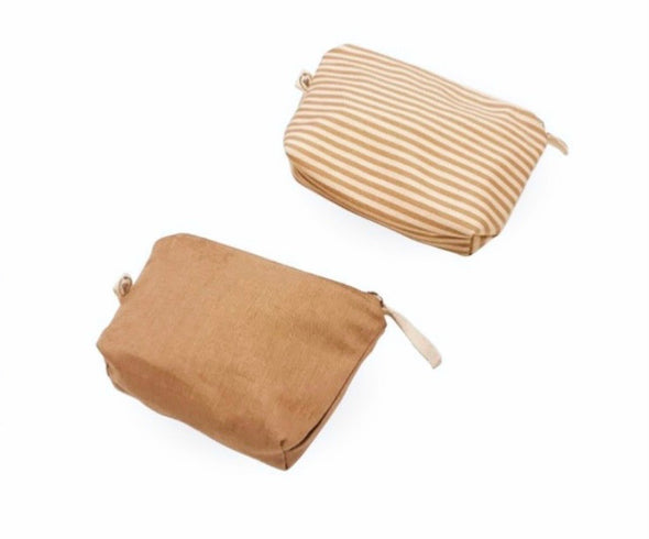 THE ECOBAG COMPANY ORGANIC COTTON TOILETRY BAG