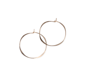 Fail Jewelry 14k Yellow Gold Filled Small Round Hoop Earrings