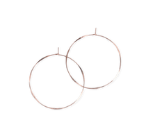 Load image into Gallery viewer, Fail Jewelry 14K Rose Gold Filled Large Round Hoop Earrings