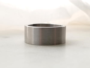 Carl Dau Stainless Steel Plain Band