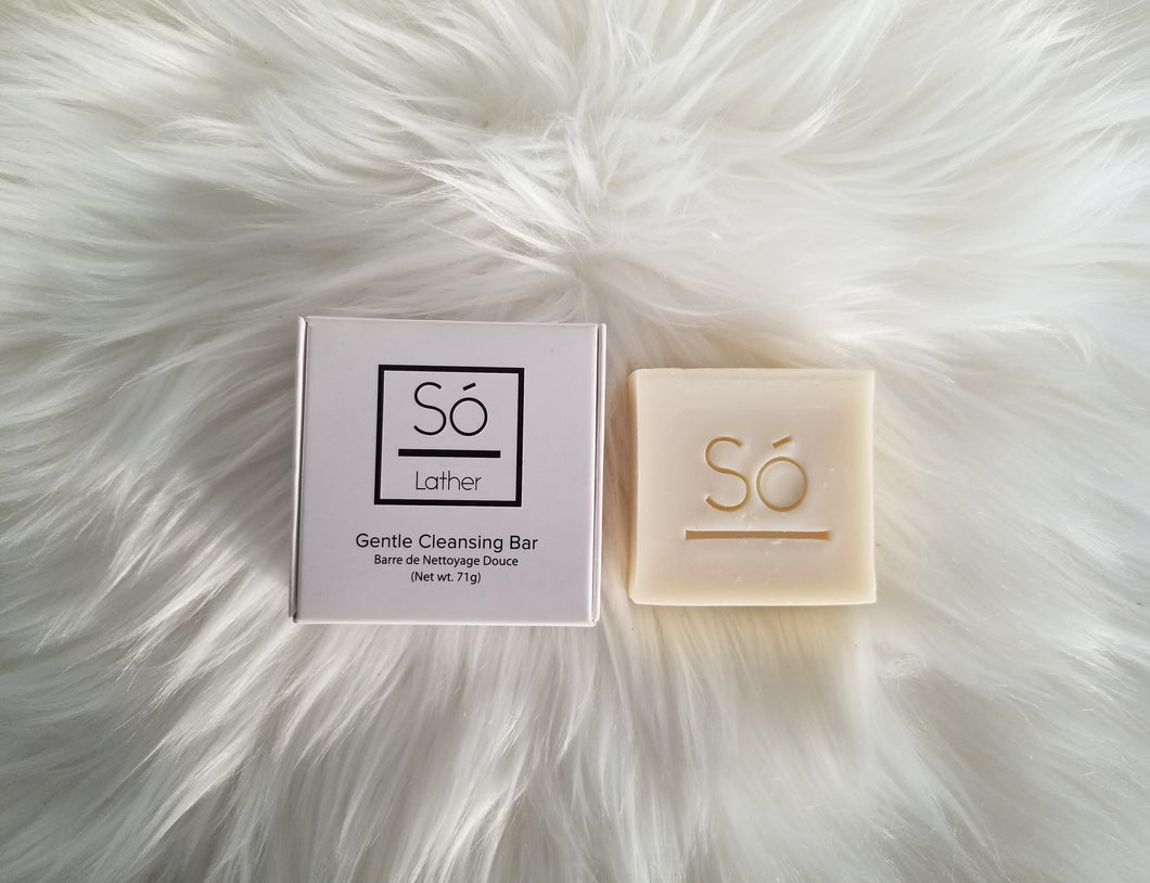 Só Luxury Gentle Cleansing Bar