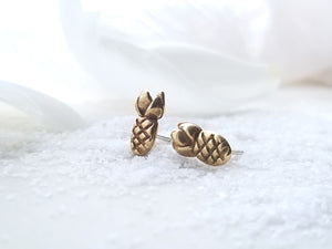 "Marmalade Designs Bronze ""Pineapple"" Studs"