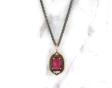 Load image into Gallery viewer, Modern Vintage Concept Ruby Pendant