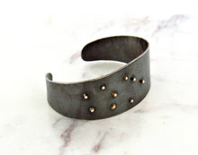 Load image into Gallery viewer, Melissa Joy Manning Mixed Metal Bracelet Cuff