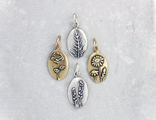 Load image into Gallery viewer, Marmalade Designs Botanical Oval Charms