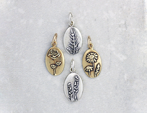 Marmalade Designs Botanical Oval Charms