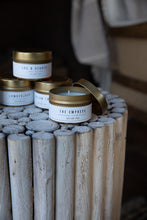 "Load image into Gallery viewer, ""Mountain Heather Travel Size"" by Hollow Tree Candles"