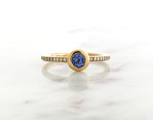 Family Concept Tanzanite Ring