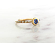Load image into Gallery viewer, Family Concept Tanzanite Ring
