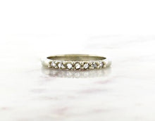 Load image into Gallery viewer, Modern Vintage Concept Rose Cut Diamond Band