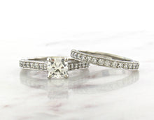 Load image into Gallery viewer, Classic Concept Pave Diamond Engagement Ring