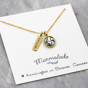 Marmalade Designs Explore Charm Necklace