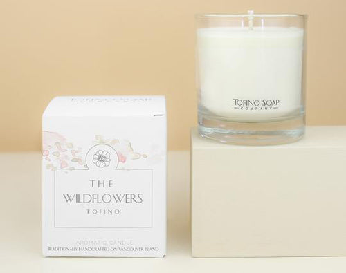 Tofino Soap Company The Wildflowers Natural Candle
