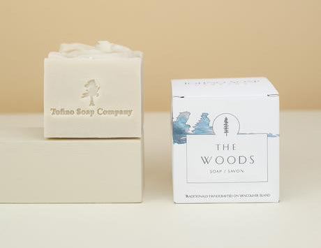 Tofino Soap Company The Woods Natural Soap Cube