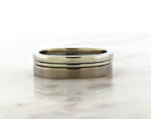 Load image into Gallery viewer, Gents Concept 2mm White Gold Band
