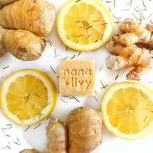 Load image into Gallery viewer, Nana + Livy Ginger Lemonade Salt Block