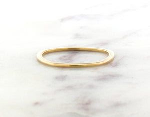 Gents Concept 1mm Yellow Gold Band