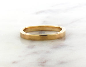 Gents Concept 3mm Yellow Gold Band