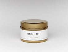 "Load image into Gallery viewer, ""Juniper Moss Travel Size"" by Hollow Tree Candles"