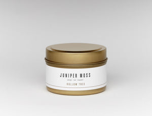 """Juniper Moss Travel Size"" by Hollow Tree Candles"