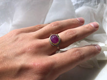 Load image into Gallery viewer, Ananda Khalsa Pink Sapphire Ring