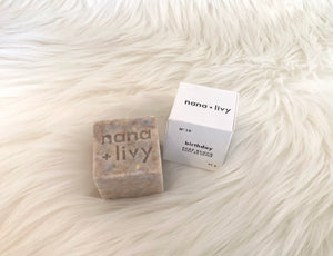 Nana + Livy Birthday Soap Cube