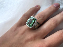 Load image into Gallery viewer, Juicy Gem Concept Green Beryl Ring