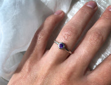 Load image into Gallery viewer, Family Concept Amethyst Ring