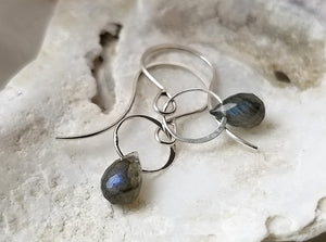 Melissa Joy Manning Labradorite Drop Earrings