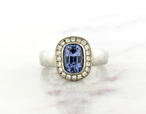 Juicy Gem Concept Light Blue Sapphire Ring