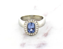Load image into Gallery viewer, Juicy Gem Concept Light Blue Sapphire Ring