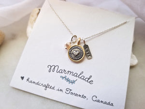 *VALENTINE'S PROMOTION* Marmalade Designs Love Charm Necklace Set