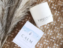 Load image into Gallery viewer, Tofino Soap Company Calm Natural Candle