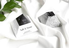 Load image into Gallery viewer, Salt & Stone Black Lava Spa Stone Soap