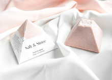 Load image into Gallery viewer, Salt & Stone Rose Quartz Spa Stone Soap