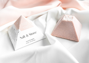 Salt & Stone Rose Quartz Spa Stone Soap