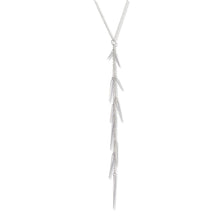 Load image into Gallery viewer, Marion Cage Sterling Silver Small Point Long Drop Necklace