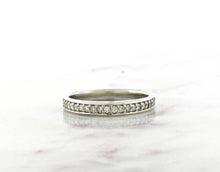 Load image into Gallery viewer, Classic Concept Platinum Band With Diamonds