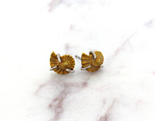 Load image into Gallery viewer, Melissa Joy Manning Ammonite Stud Earrings