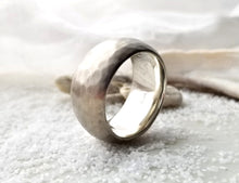 Load image into Gallery viewer, Toby Pomeroy Silver Euro Dom Plainshed Ring