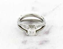 Load image into Gallery viewer, Classic Concept Split Shank Diamond Ring