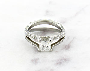 Classic Concept Split Shank Diamond Ring